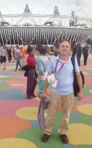 Ramsey covered the 2012 Summer Olympics in London, England.