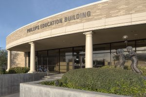 Phillips Education Building dedicated