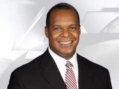 KOCO-TV anchor Edwards covering tornado