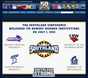 The Southland Conference welcomed four new members to Division I this morning on its website