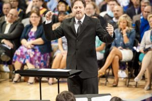 Atchley helps open ACU's 108th school year