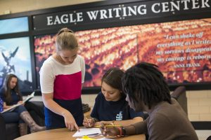 ACU teams with AHS on Eagle Writing Center