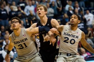Three basketball foes make NCAA tourney