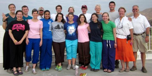 ACU faculty, students and alumni at LiveBeyond in Haiti