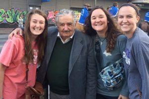 Students meet Uruguayan president Mujica