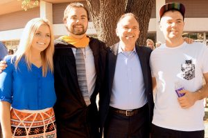 ACU's long purple line: a father's perspective