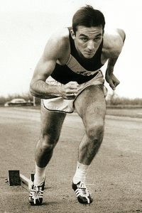 Don Conder ran on a 880-yard Wildcat relay team with Bill Woodhouse, James Segrest and Bobby Morrow that tied a world record in 1956.