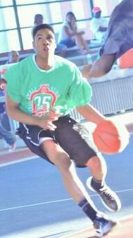 Patrice Days was a standout basketball player as a teen in Baltimore, Md.