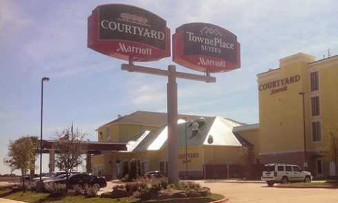 Abilene S Two Newest Hotels Are Adjacent To Each Other Just North Of Interstate 20 And