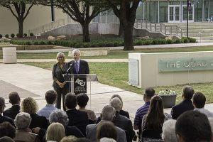 VIA News: The Quad named for McGlothlins