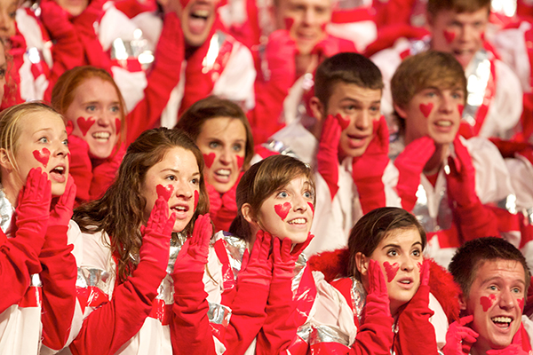 Junior class Cupids in 2011.