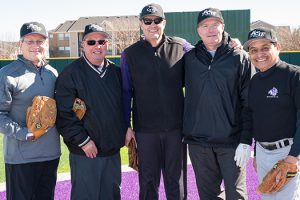 Softball games a big hit with baseball alums
