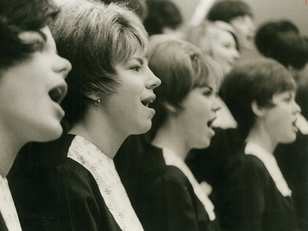 GATA participants in Sing Song 1967