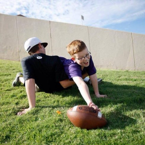 A couple generations of sons of Wildcats have played touch football on the grassy berms of Shotwell Stadium.