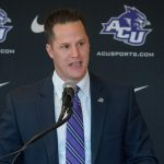 ACU director of athletics Lee De Leon
