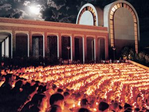 The Candlelight Devo is one of ACU's most treasured traditions.