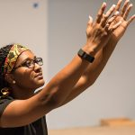 Theatre major uses African dance in outreach to children