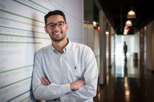 IT grad finds niche at USAA