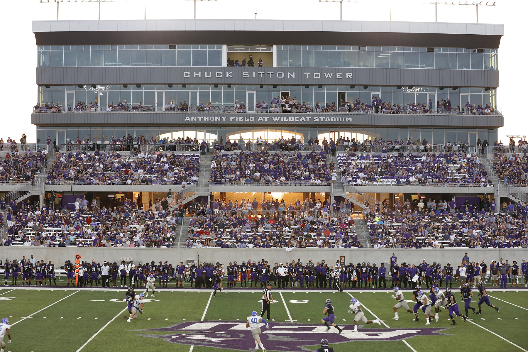 ACU Wildcats vs Houston Baptist at Wildcat Stadium opening game