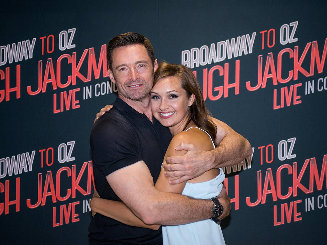 Lara (Seibert '06) Young and Hugh Jackman