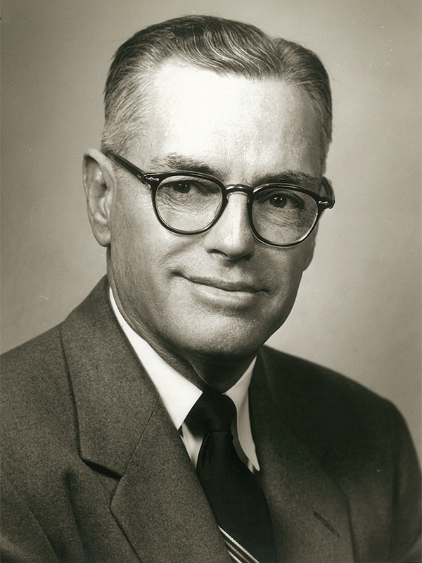 A.B. Morris was ACU's first director of athletics and a legendary coach