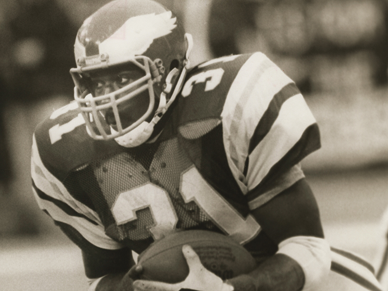 Wilbert Montgomery led the 1980 Philadelphia Eagles to their first appearance in the NFL's Super Bowl.