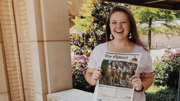 Journalism student turns dream of photography business into reality