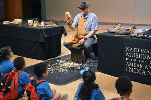 Smithsonian museum invites alumnus to demonstrate American Indian carving