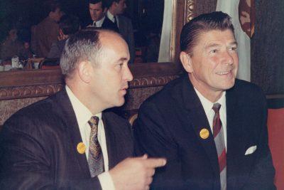 Teague was a GOP fundraising partner with California Gov. Ronald Reagan.