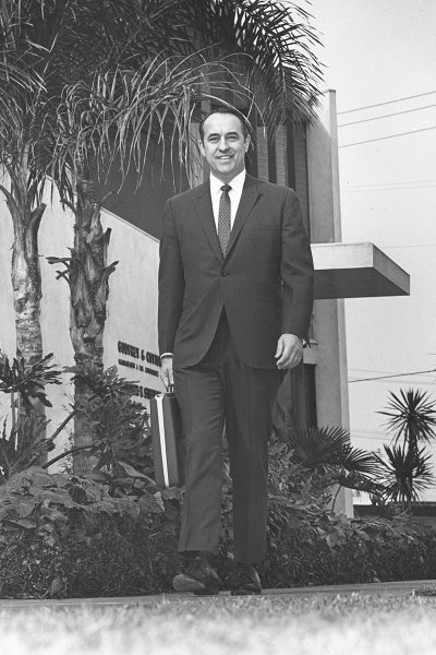 Teague was a VP for two Fortune 500 companies.