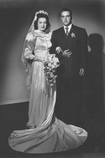 The Teagues married in 1948.