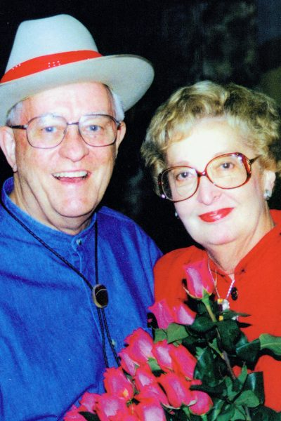 The Teagues were married 67 years when Peggy died in 2015.