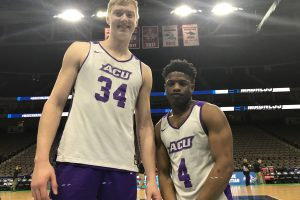 March Madness: Kohl and Daniels are the long and short of ACU matchup with Kentucky
