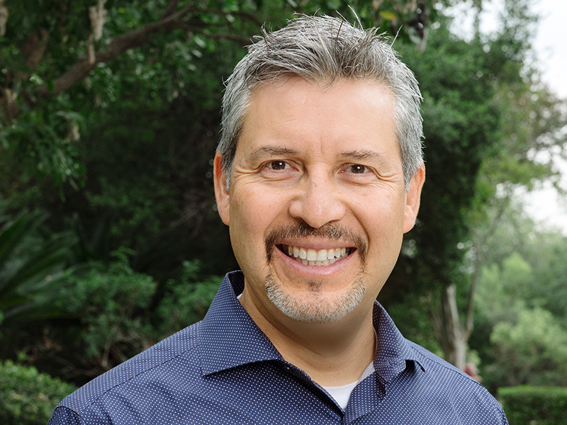 Sam Gonzalez is lead minister for the Alamo Ranch campus of Oak Hills Church in San Antonio where Max Lucado, ACU's 2003 Outstanding Alumnus of the Year, is the Teaching Minister.