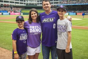 Wildcats, Rangers fans gather for ACU Night at the Ballpark
