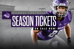 Football season, single game tickets now on sale