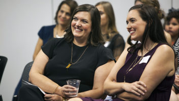 Southwest Airlines communications director honored as distinguished alumna