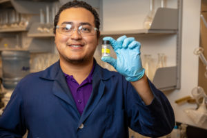 NEXT Lab researcher tackles project to extract medical isotope