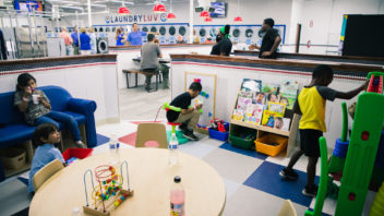 ACU partners with Clinton Foundation and Laundry Luv to offer reading area