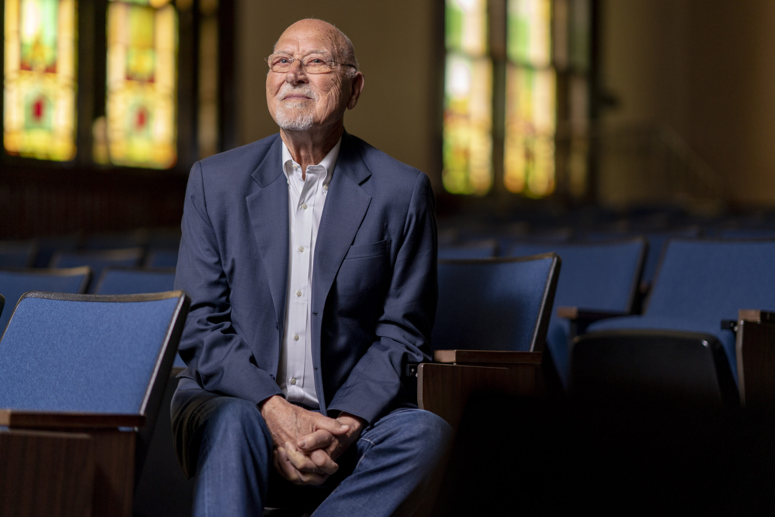 Don Finto ('50) is profiled as the most recent recipient of ACU's Dale and Rita Brown Outlive Your Life Award.