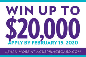 ACU Springboard competition announces prize money to aspiring entrepreneurs