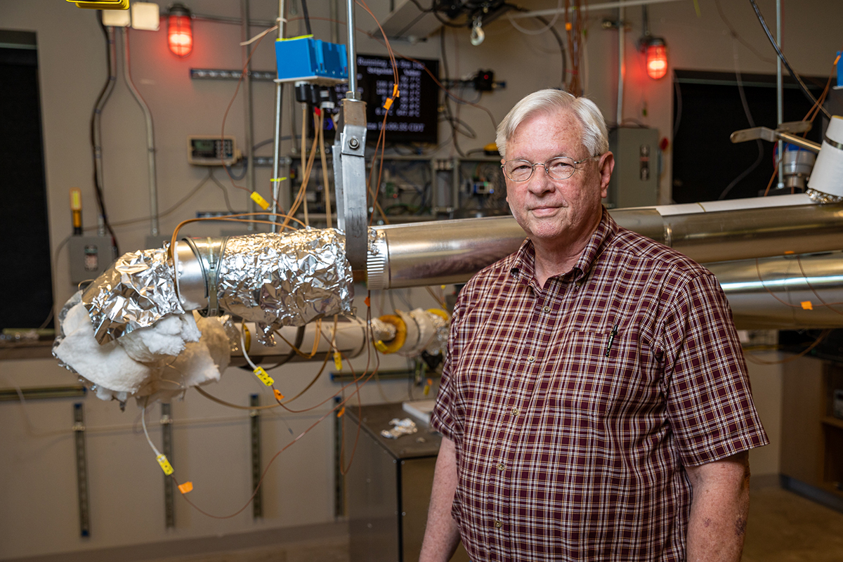 Tom Bailey came out of retirement to serve as NEXT Lab's senior mechanical engineer.