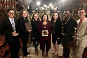 Debate team earns national rankings, individual awards