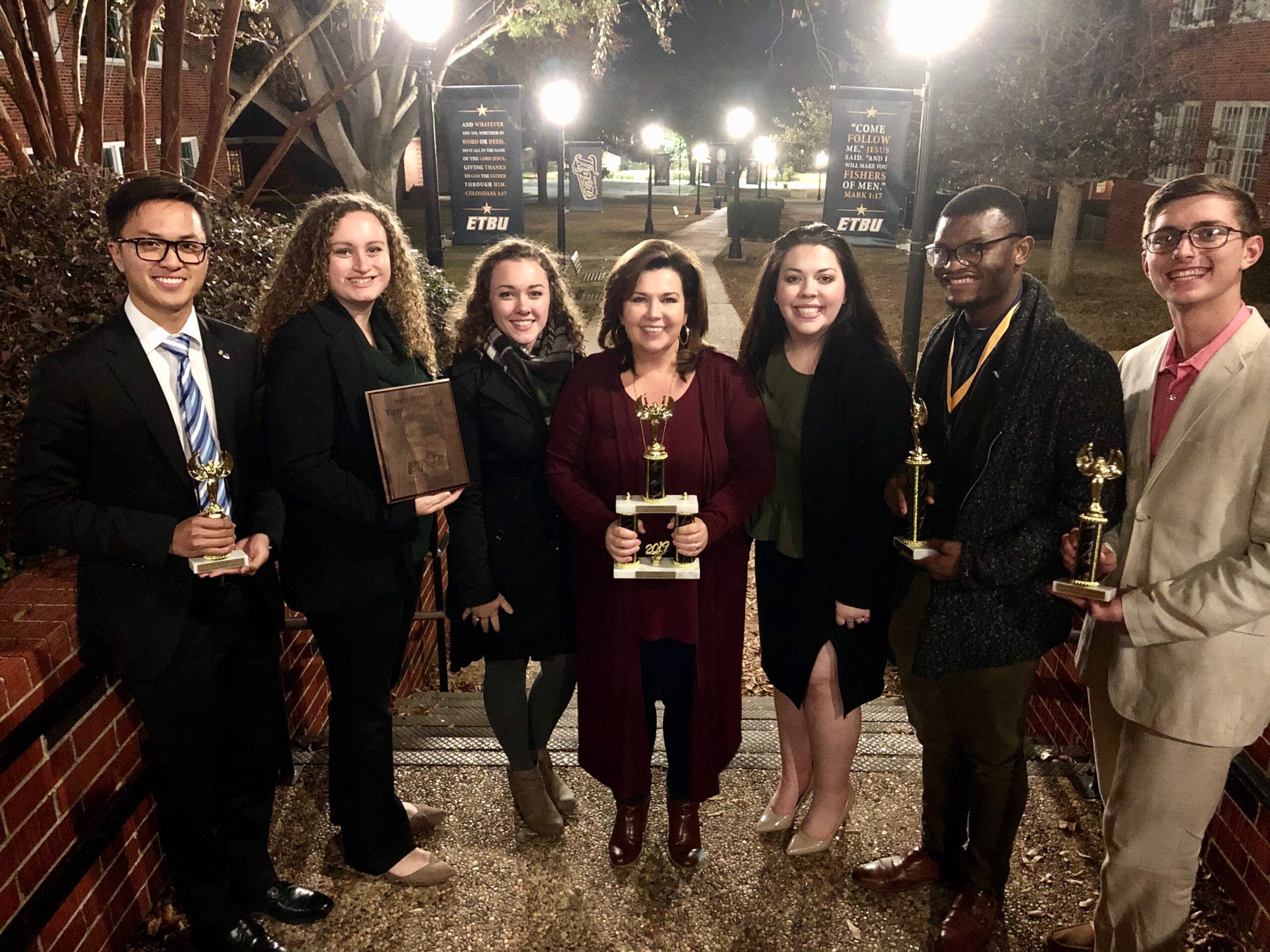 ACU debate team ranks No. 17 in the nation for 2019-20.