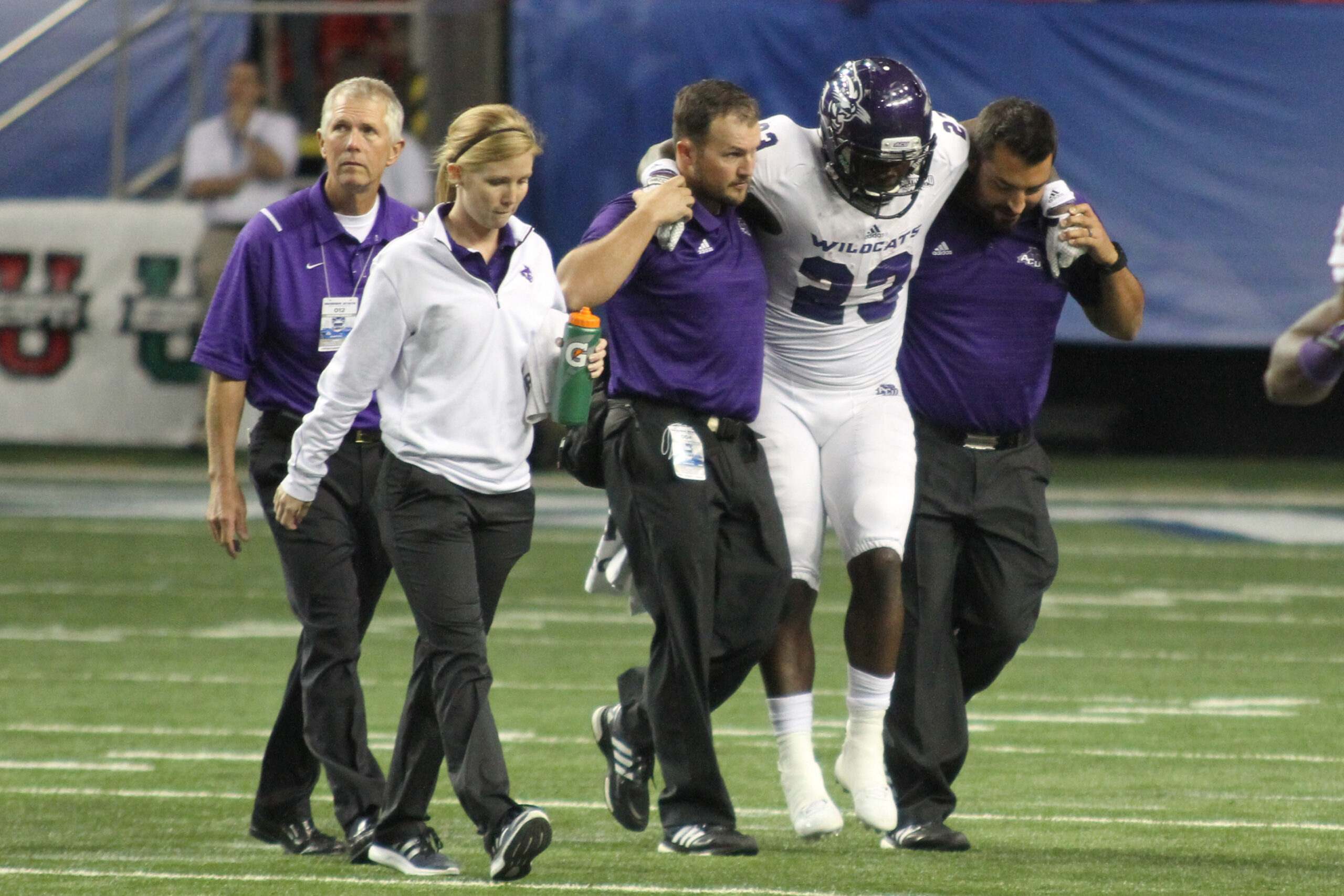 ACU's Master of Athletic Training program has been accredited by CAATE.