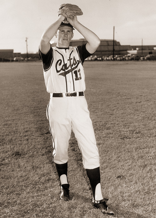 Gilbreth led the NCAA in strikeouts in 1968, and threw two no-hitters in his ACU career.