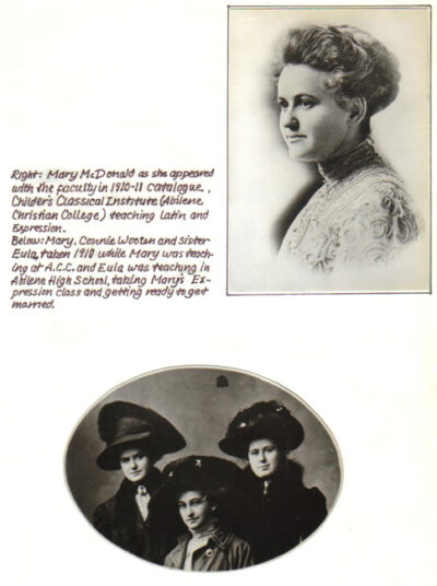 McDonald Family Scrapbook 6