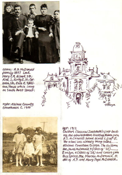 McDonald Family Scrapbook 4