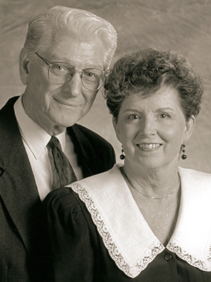 Harold and Jeannette Lipford, who met as students in ACU's A Cappella Chorus, were married 66 years.