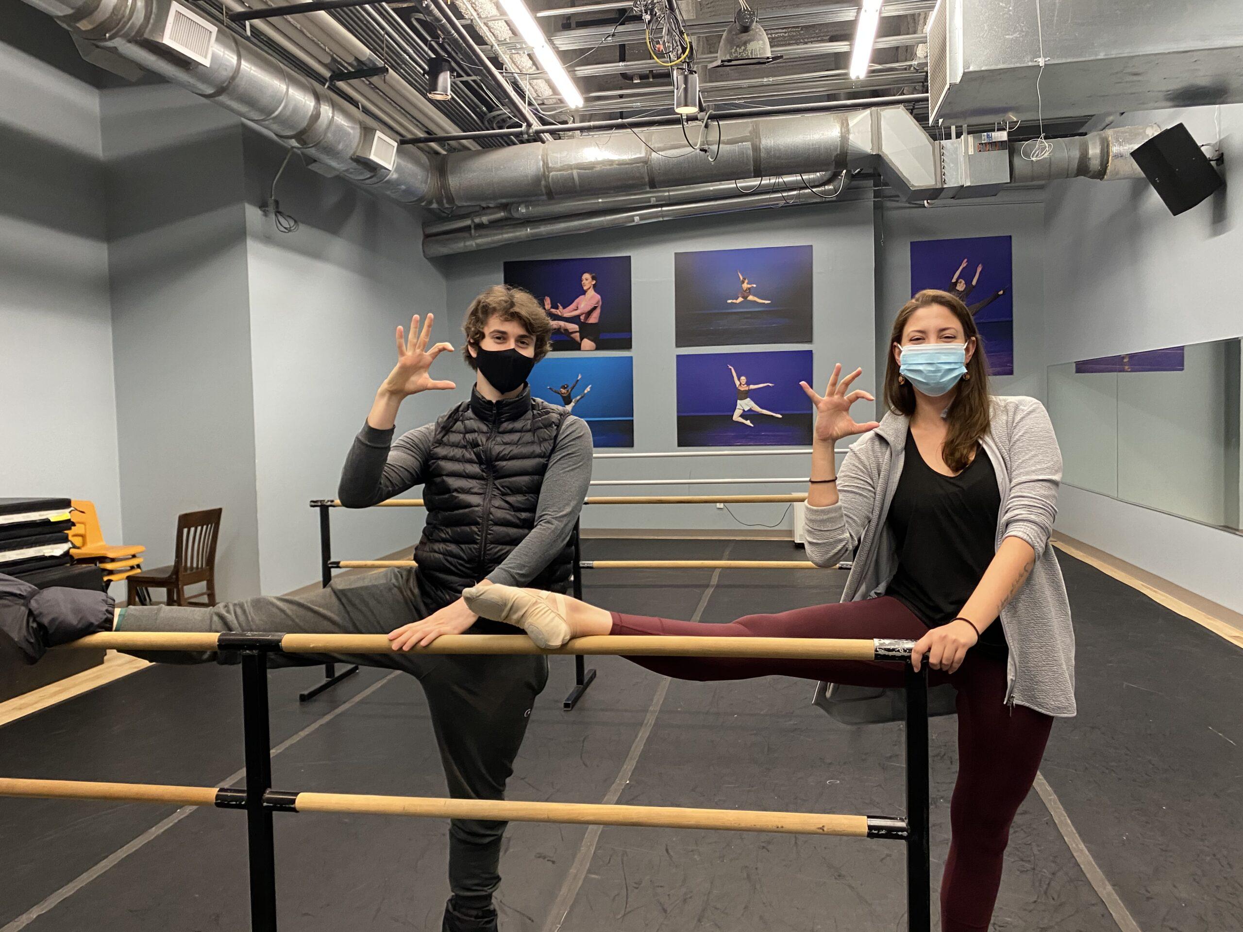 Alex Maryianowski, Lily Balogh, ACU Theatre